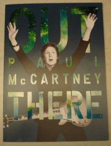 "Photo of program I purchased for ""Paul McCartney Out There Tour"""